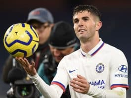 Christian Pulisic of Chelsea FC