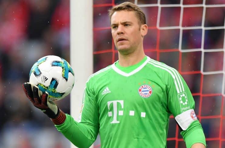 Photo of Manuel Neuer of Bayern Munich
